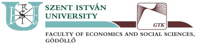 Szent István University - Faculty of Economics and Social Sciences, Hungary
